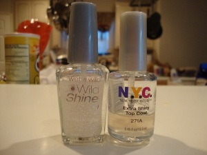 Wet n Wild Hallucinate and the diluted version.